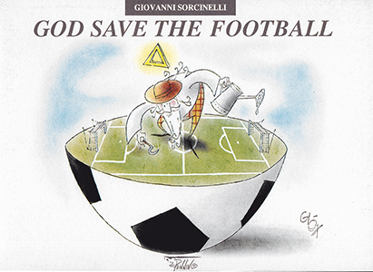 God save the football